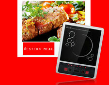 Electric 2000W Induction Cooktop Burner Cooker Countertop Sensor Touch Induction