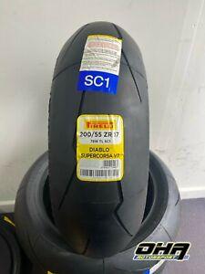 NEW Pirelli Diablo Supercorsa V2 SC - Race / Track Day Rear Tyre 200/55-17 SC1