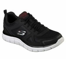 Mismatched Skechers Men's Track  Memory Foam Air Cooled Sneaker Shoes 52630