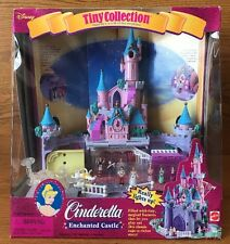 """1995 Disney Tiny Collection """"Cinderella Enchanted Castle""""~Polly Pocket~Bluebird"""