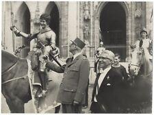 Général Charles de Gaulle Jeanne d'Arc France Photo Argentique Vintage