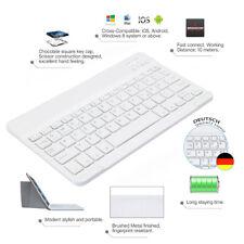 QWERTZ Tastatur Weiß for iPad 2018 2017 9.7 iPad Pro 12.9 11 Bluetooth Keyboard