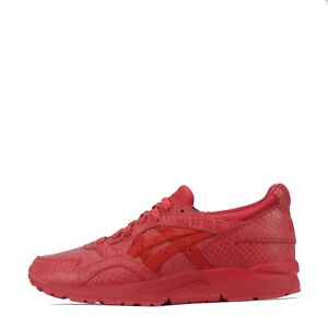 Asics Gel Lyte V Men's Trainers Shoes Sneakers Red UK 8