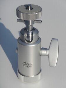 Leitz Wetzlar Model #14121 Tripod Ball Head • Made in Germany