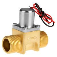 """1/2"""" DC 3.6V Elektrisch Magnetventil Elektromagnetisch Impulsventil für Wasser"""