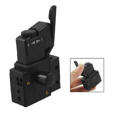 FA2-6/1BEK SPST Lock on Power Tool Trigger Button Switch Black B4M7