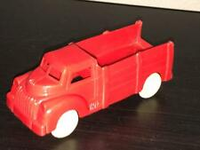 Vintage Red Plastic Stake Truck - Lapin Products - 1950s