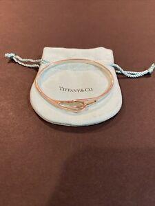 Tiffany & Co. Sterling Silver Hook Bangle Bracelet