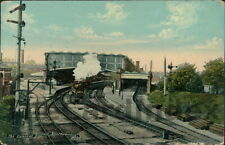 BOURNEMOUTH Central Station Postcard HAMPSHIRE J. Welch & Sons