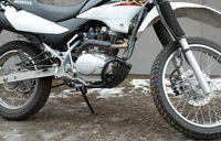 HONDA XR125L, XR150 ENGINE GUARD BLACK ACCESSORIES MOTORCYCLE BIKE
