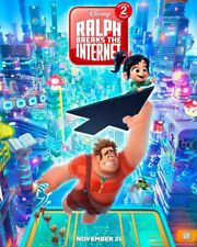 Wreck It Ralph 2 Breaks the Internet original DS movie poster D/S 27x40 Adv B