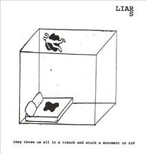 LIARS - They Threw Us All in a Trench and Stuck a Monument on Top (CD 2002) USA