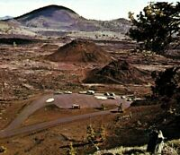 Craters Of The Moon National Monument Volcanic Research ID Vintage Postcard