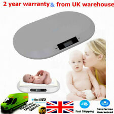 Baby Scales Electronic Digital Infant Pet Cat Baby Weighing Scale 20kg UK SHIP
