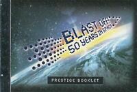 BLAST OFF! 50 YEARS in SPACE PRESTIGE STAMP BOOKLET AUSTRALIA - MINT