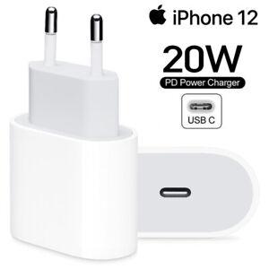 Original Apple 20W Power Adapter für iPhone 12 12 Pro Schnellladegerät USB-C