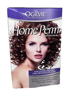 Men & Women Home Perm Kit - (For Color Treated Thin Or Delicate Hair) - Ogilvie