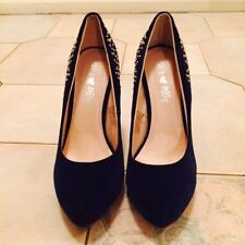 Party Medium (B, M) Width Velvet Shoes for Women