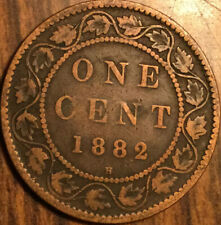 1882 H CANADA LARGE 1 CENT PENNY