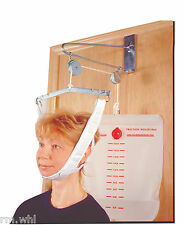 Over The Door Cervical Neck Traction Unit Kit Home Head Brace 9630, Drive 13004