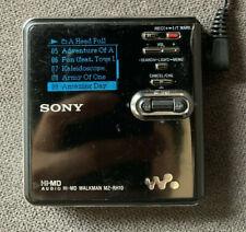 Sony Minidisc MZ-RH10 working LCD Hi-MD écran fonctionnel bon état visuel