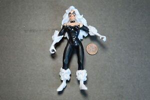 "Black Cat 1996 Marvel ToyBiz 5"" Figure no Weapons"