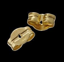 1,3,5,10 Paar Echte 333er Gelbgold Ohrmutter Ohrstecker Pousetten Ohrstopper neu