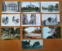 Canada - 1907-09 - Vintage Postcard (10)  Lot with ten (10) vintage postcards