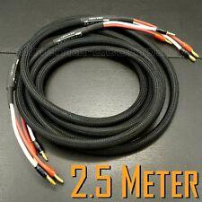 cable de altavoz RCA macho a banana 4N OFC HiFi Cable de altavoz de 1 m 1 Meters 2 m. 2 banana Cable de altavoz banana a RCA