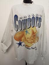 DALLAS COWBOYS VINTAGE 1996 RIDDELL LONG SLEEVE RETRO SHIRT NFL FOOTBALL COOL