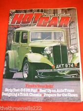 HOT CAR - DESIGN A TRICK CHASSIS - JULY 1980