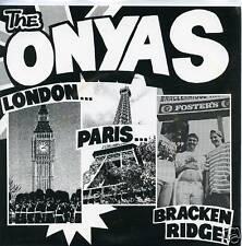 """ONYAS London Paris 7"""" NEW punk aussie estrus scientists saints psychosurgeons LP"""