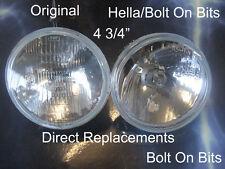 """5"""" 2 Inner Headlamp/headlights Morette Corsa B Impreza 106 Saxo Mondeo Mk1 kits"""