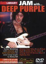 Bibliothèque lécher apprendre à jouer de la confiture avec deep purple woman from tokyo paresseux Guitare DVD