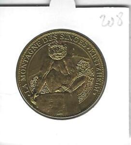Médaille Souvenir 208 - 67 Kintzheim Montagne Singes , 2012, Arthus-Bertrand