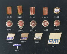 FIAT alte Logos Anstecknadeln - Abzeichen /- pin badges 50er-70er J. AUSSUCHEN