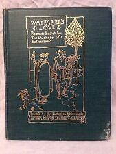 Walter Crane - Wayfarer's Love 1st/1st 1905 - Yeats, Hardy, Chesterton, Houseman