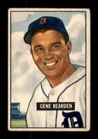 1951 Bowman #284 Gene Bearden VGEX Tigers 401840
