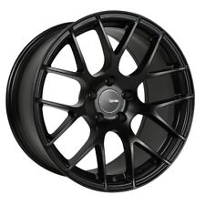 19x8 Enkei RAIJIN 5x120 +42 Black Wheels (Set of 4)