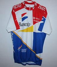 Vintage Banesto Cycling team jersey Size 7