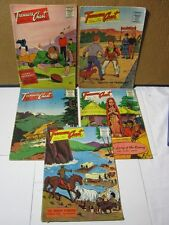Treasure Chest of Fun & Fact Late 1950's Vtg. Religious Comic Lot of 5   T*