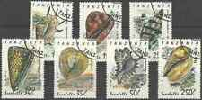 Timbres Coquillages Tanzanie 1056/62 o lot 27375