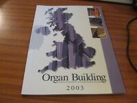 ORGAN BUILDING JOURNAL OF THE INSTITUTE OF BRITISH ORGAN BUILDERS VOLUME 3