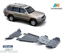 Toyota Land Cruiser LC100 HDJ100 Unterfahrschutz SET 6mm Alu NEU Skid plates KIT