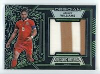 2019-20 Ashley Williams 10/25 Patch Panini Obsidian Volcanic Material