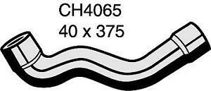 Mackay Radiator Hose (Top) CH4065 fits BMW 5 Series 520 i (E39) 110kw, 523 i ...