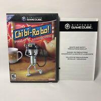 Chibi Robo Nintendo GameCube 2006 Authentic Case Artwork ONLY NO GAME USA Seller