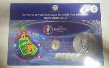 UEFA EURO 2016 OFFRE COMPLÈTE ALBUM COLLECTOR + 24 MÉDAILLES