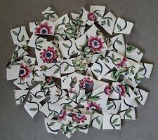 """Garden Path"" Passion Flower Mosaic Tiles ~ International China"