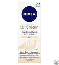 3 X NIVEA Daily Essentials BB Cream 5 in 1 Beautifying Moisturiser Light 50ml
